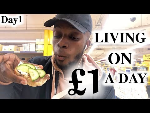 London Hacks - Living On £1 A Day | #1