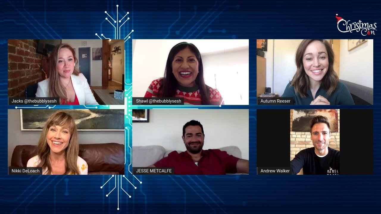 CHRISTMAS VIRTUAL CON - Panel # 5 Jesse, Autumn, Andrew and Nikki  - Hosted by Bubbly Sesh
