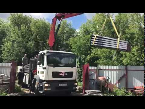Манипулятор 10 тонн в работе. Достанем всё что нужно!