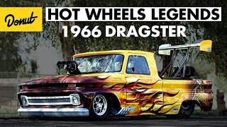 Wicked fast 66' Dragster pickup wins in Phoenix | Hot Wheels Legends Tour