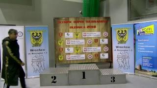 Międzynarodowe Mistrzostwa Oleśnicy Juniorek/ów 25.11.2018 tatami 3