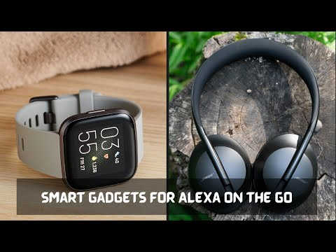 Smart Gadgets For Alexa On The Go