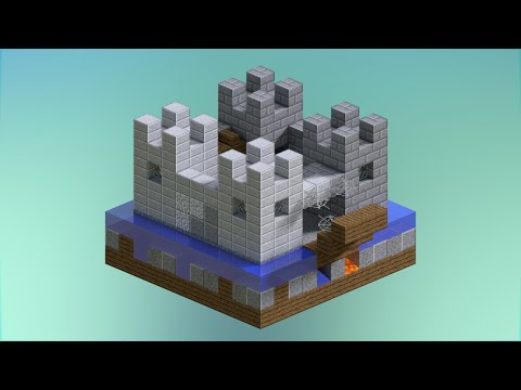 5 mini Castle Designs | Minecraft