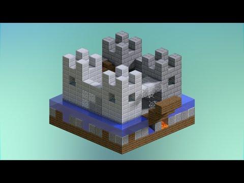 5 Mini Castle Designs Minecraft Youtube