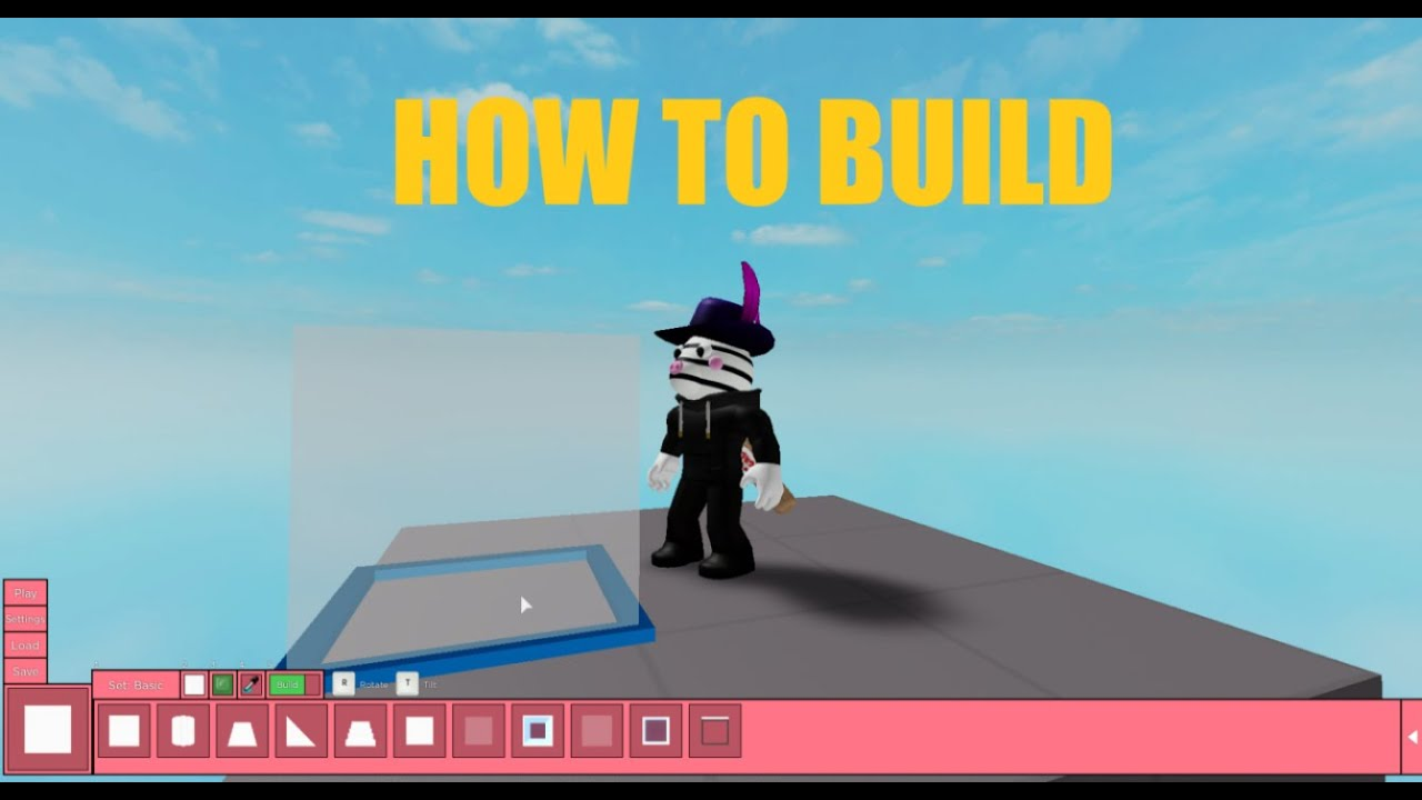HOW TO BUILD GUIDE! (New Build Mode) - Roblox Piggy