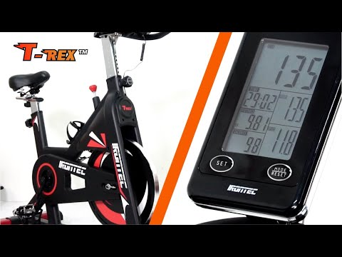 จักรยานออกกำลังกาย รุ่น T-REX รีวิวหน้าจอ  - เครื่องออกกำลังกาย อันดับ 1 – IRONTEC ™
