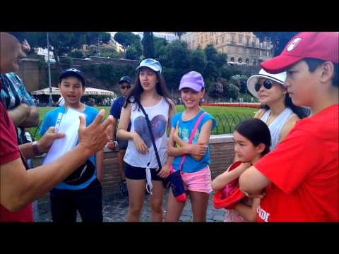 The Cardeys – Vatican Tour for Children