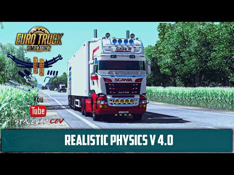 Euro Truck Simulator 2 V1.35 Mods ➤Обзор Realistic Physics V 4.0