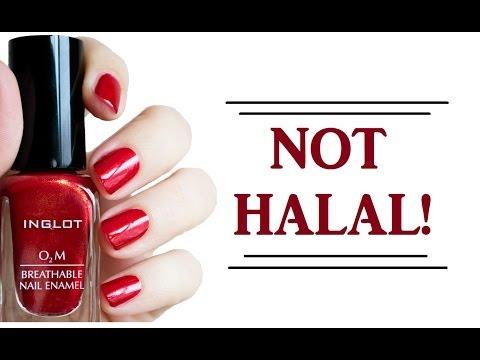 Inglot Halal Nail Polish Color Samples Youtube