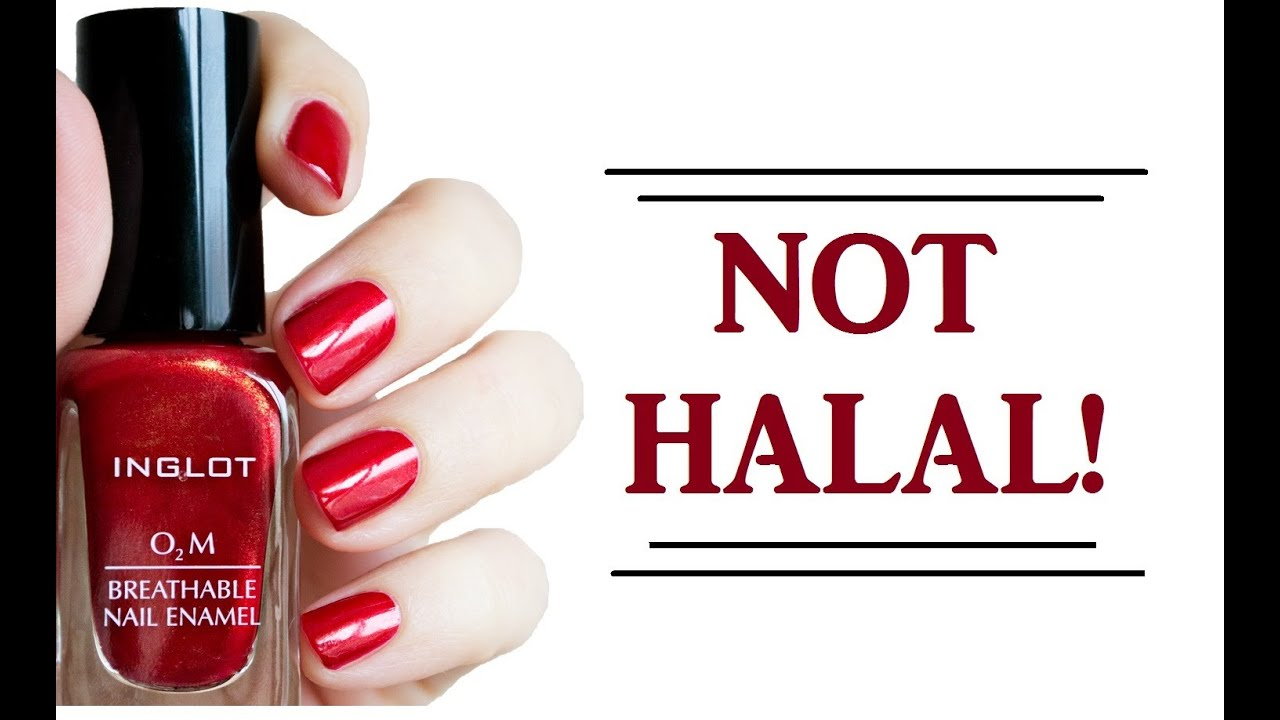 Inglot O2m Nail Polish Not Halal مناكير انجلوت Quot الإسلامية Quot لا تصلح للوضوء Youtube