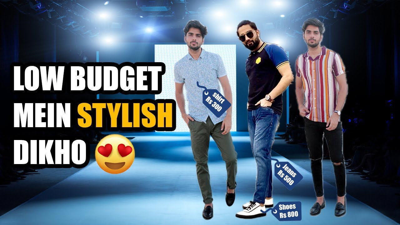 Low Budget Styling Under ₹1000 Only | Kam Budget Mein Zada Handsome Dikho | Low Budget Shopping