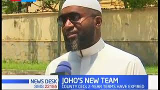 Joho set to reshuffle his cabinet after the expiry of the two years term
