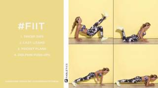 FIIT | 4 Moves to Tone Your Upper Body