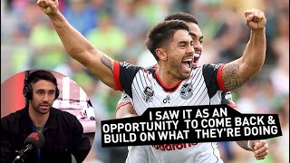 Shaun Johnson Excited about his Shock Warriors Return   The Rock