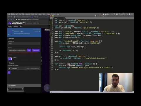 Integrating with Slack in 3 minutes (Node + Javascript) thumbnail