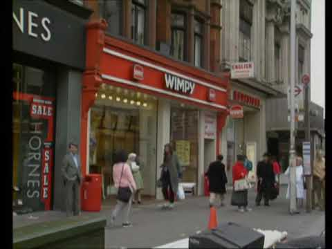 Wimpy Restaurant | 1980's Oxford Street | London | Fast Food | Thames TV | 1980's