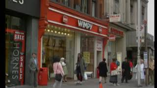 Wimpy Restaurant | 1980's Oxford Street | London | Fast Food | Thames TV | 1980's thumbnail