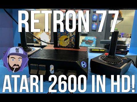 Hyperkin Retron 77 - Atari 2600 Games in HD! | RGT 85