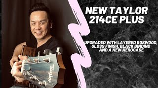 NEW TAYLOR 214CE PLUS GUITAR REVIEW IN SINGAPORE