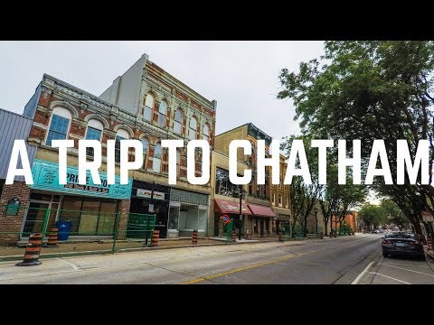 First Day in Chatham | Ontario Travel Vlog