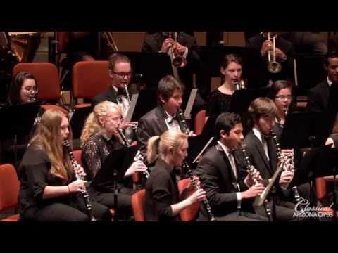 "ASU Wind Ensemble perform Bernstein: ""Slava!"""