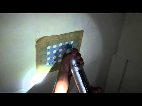 Proses Hammer Test di gedung Ruko 3 Lantai