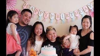 1st Ever Birthday Celebration | TigerFamilyLife~