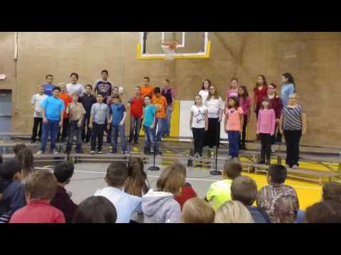 Round Valley Middle School 5th Grade Choir