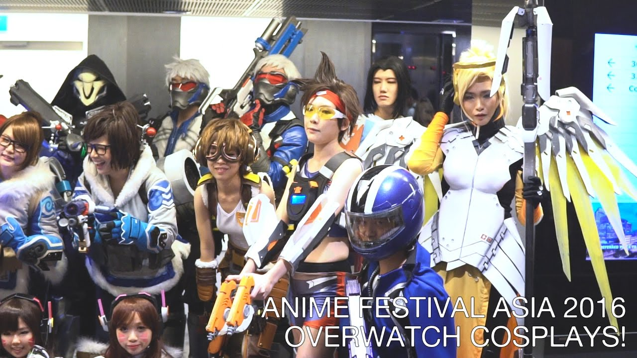 ANIME FESTIVAL ASIA 2016 COSPLAY SHOWCASE Feat OVERWATCH FHD
