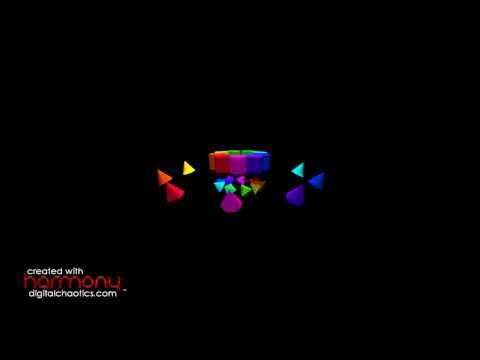 Russian Dance (Trepak) (The Nutcracker) - Music by Tchaikovsky, Visuals created with Harmony™