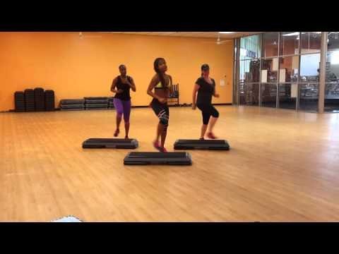 Cardio Step: 30 Minute Basic/Intermediate Step with Karla Luster