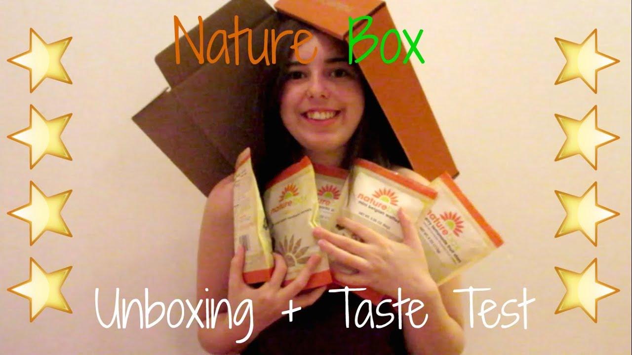 nature box unboxing taste test youtube. Black Bedroom Furniture Sets. Home Design Ideas