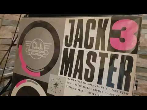Mixmaster - Pump It Up Homeboy High end recording from Jackmaster 3 album from 1988