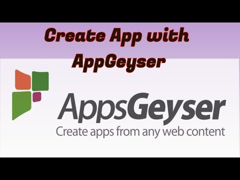 03 _ How to Make Android Apps Using AppsGeyser :: Create Video Downloader App