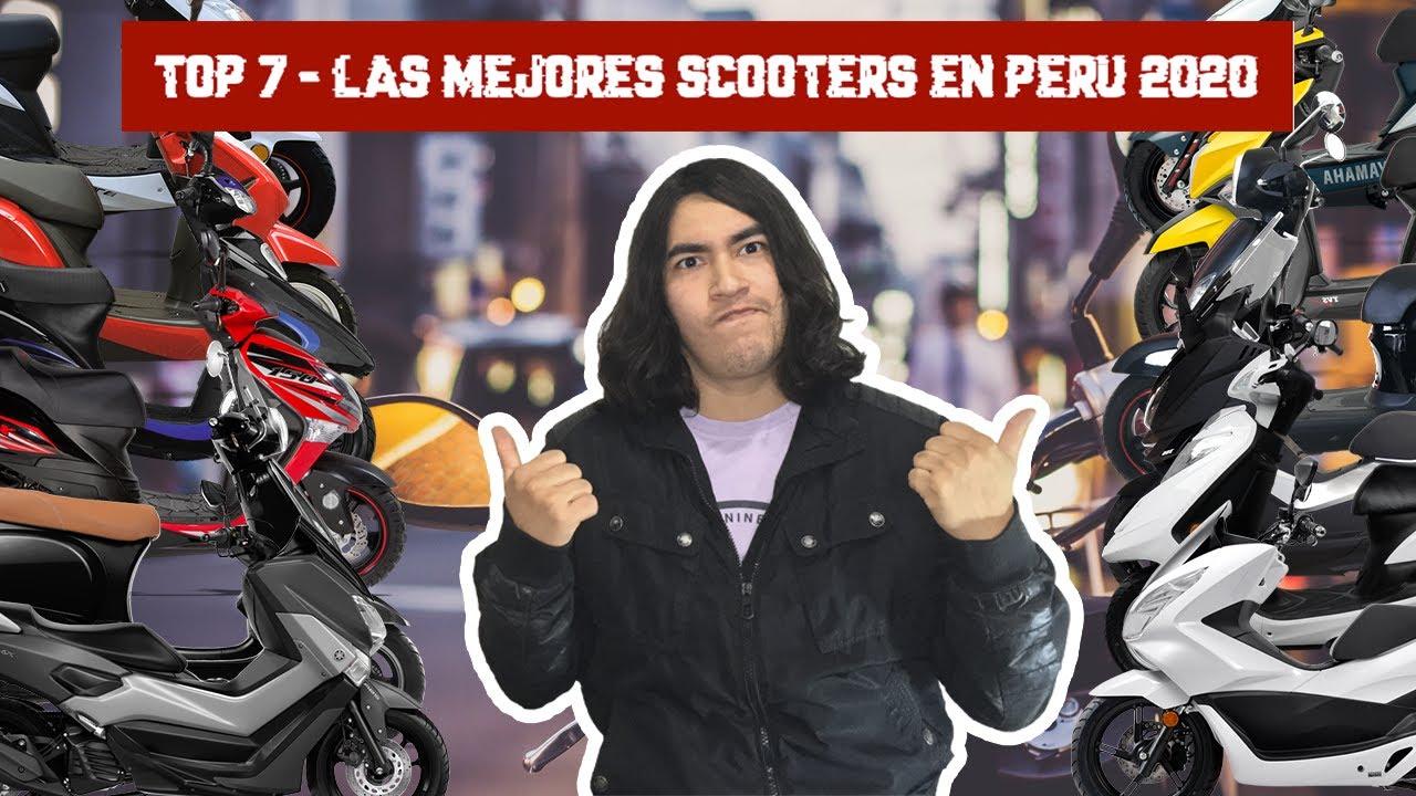 TOP 7 - Las mejores scooters en Perú 2020 ¿Cuál será la mejor de todas? #HondaShadow
