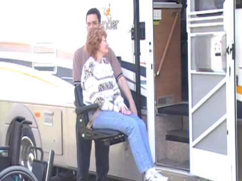 Cool Wheelchair LIft- Glide \'n Go XR for RV\'s, Tractor Trailers ...