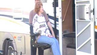 Cool Wheelchair LIft- Glide 'n Go XR for RV's, Tractor Trailers and Campers
