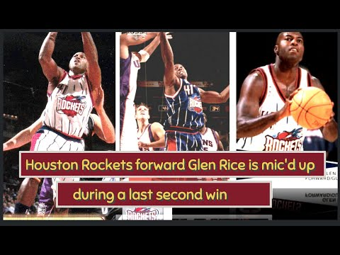 Houston Rockets Glen Rice Mic