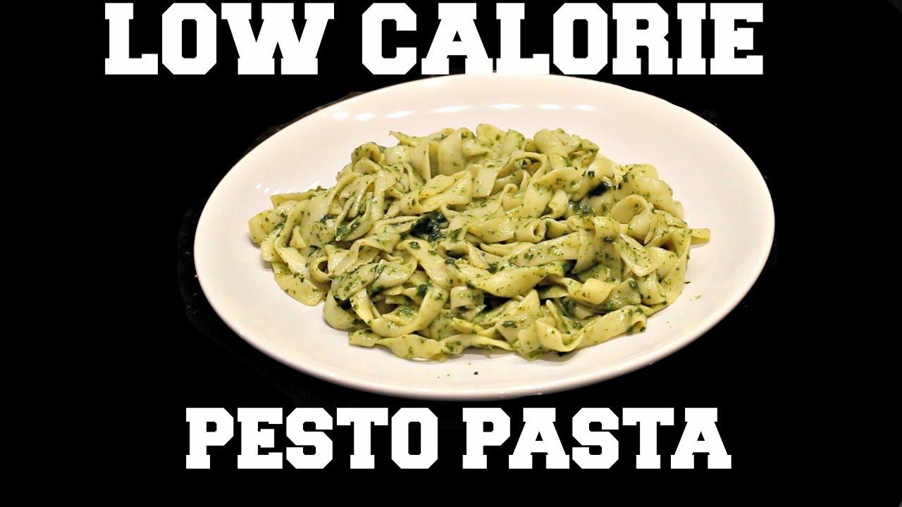 recipe: low calorie pesto pasta [24]