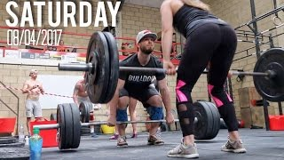 OUR FIRST EVER PAIRS CROSSFIT COMPETITION!!