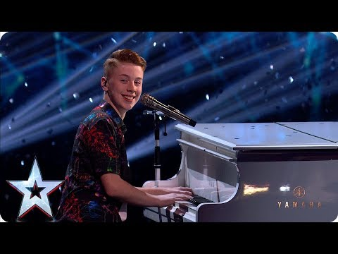 Out of this world! Kerr James wows with 'Rocketman' | Semi-Finals | BGT 2019
