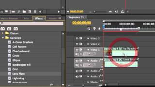 The Effect Controls Window - Adobe Premiere Pro CS5 Video Tutorials