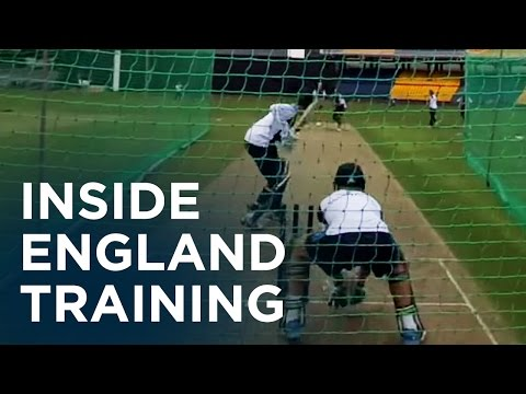 England nets in Sri Lanka through Google Glass