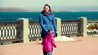 Весна в г Самаре   Набережная  Апрель 2018г  Видеограф: Потехин Алексей