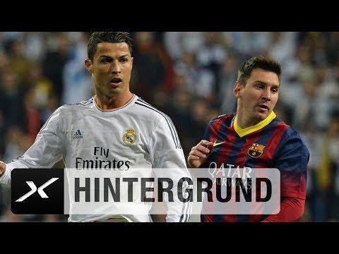 Lionel Messi vs. Cristiano Ronaldo im Alter von 30 Jahren   FC Barcelona   Real Madrid