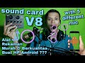 Test Sound Card V8 Dengan 5 Mic Berbeda Bm 800 Mic Clip On Dll Unboxing Review Indonesia Ngriwik(.mp3 .mp4) Mp3 - Mp4 Download