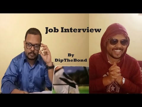 Funny Job interview India - YouTube| With English Subtitle | DipTheBond
