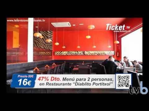 Nachos y pizza para dos en Diablito Portixol por tan solo 16 euros. Restaurante (Palma Mallorca)
