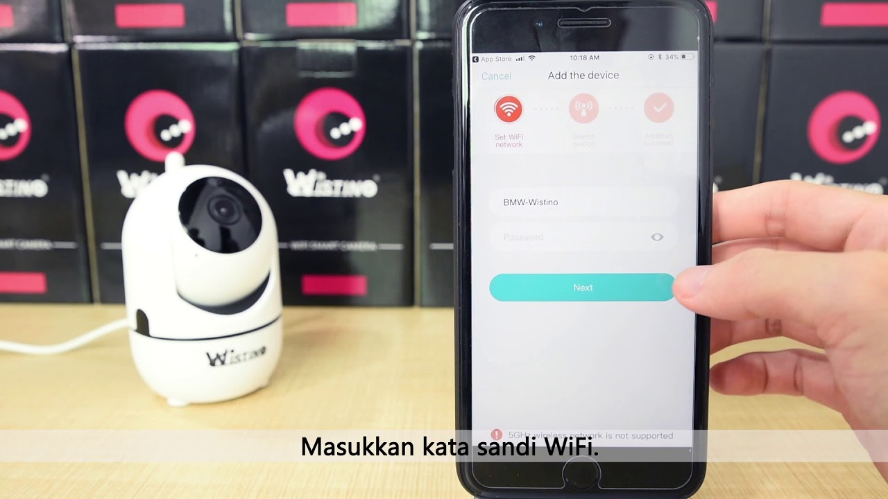 Wistino WiFi Camera For TMN Auto Tracking Camera YCC365 Indonesia
