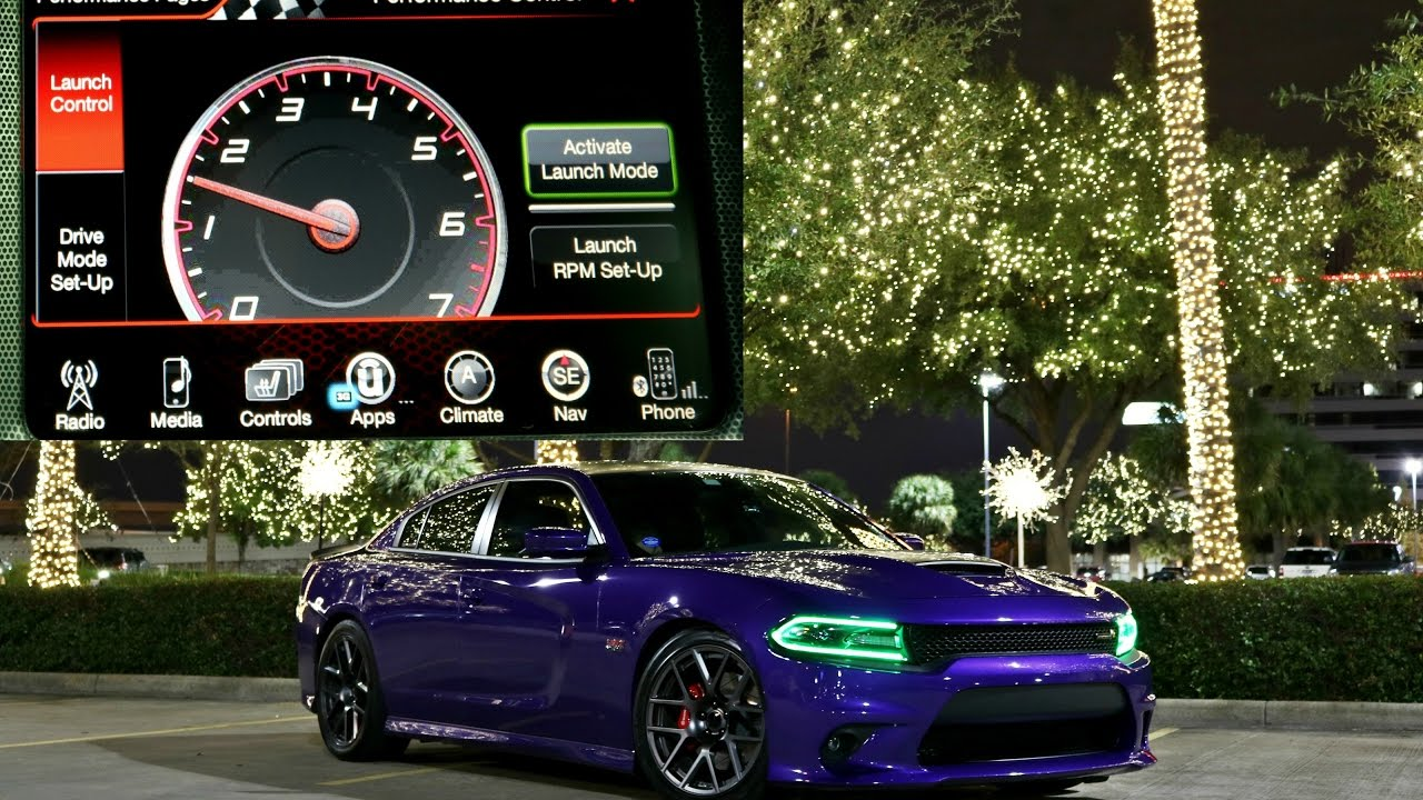 scat charger pack dodge control